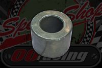 Spacer. Rear R/H drum side 29mm x 12mm x 25mm ACE 50/125