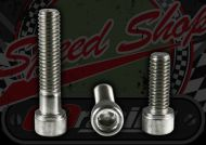 Bolt. M6. 1.00 pitch. Zinc plated. Socket cap. Choice of length.