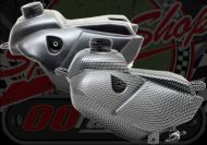 Fuel tank KLX style Carbon look
