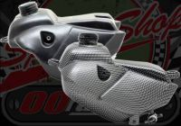 Fuel tank KLX style Carbon look
