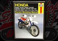 Manual. Haynes. Honda. XR & CRF. 1985 to 2007