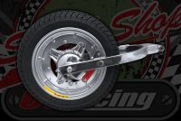 """Wheel. 12"""" rear end conversion for Suitable for ST DAX Chaly CNC tubless rims"""