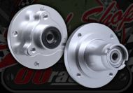 Hub. Front. CNC 10mm or 12mm. Suitable for monkey bike