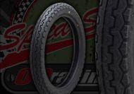 Tyre. Dunlop. 2.75 x 18 inch