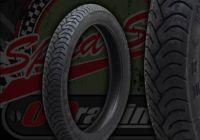 Tyre. Metzeler. 2.75 x 18