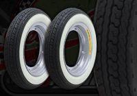 Wheel kit. ALLOY rims. White wall Shinko tyres. Suitable for DAX