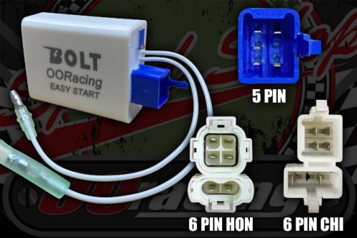 CDI. BOLT Easy Start Digital 3 in one 5 6C 6H PIN Built in switchable adjustable rev control or full power