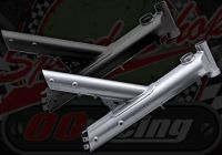 Frame. Suitable for Madass 125cc. Blank with no numbers