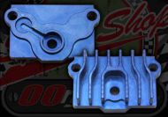 Cooler. Oil. Take off plate. Bypass plate. CNC. Blue