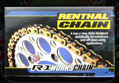 Chain. 420 or 428 pitch. 130 link. Renthal