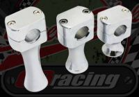 Handlebars. Clamp. Riser. Billet alloy. Choice of lift available PAIR