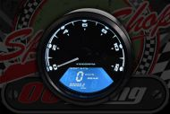 Speedo TMV 90mm MPH or KMH, Rev Counter, warning light, gear position indicator N-1-2-3-4-5 & 6.