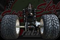 Trike conversion kit for monkey twin shock chassis