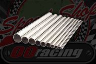 Stainless polished 304 tube. Sizes OD from 19mm to 76mm. 500mm lengths.