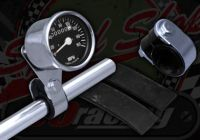 Bracket. Speedo or Rev counter. Handle bar. 7/8th (22mm) or 1